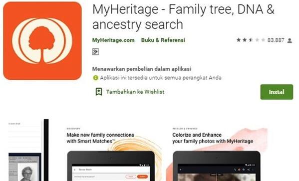 Kenapa MyHeritage Error